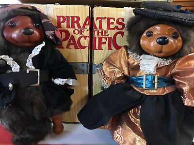 Robert Raikes Pirates of the Pacific~1989~NEW~Billy Buccaneer & M'Lady Honeypot