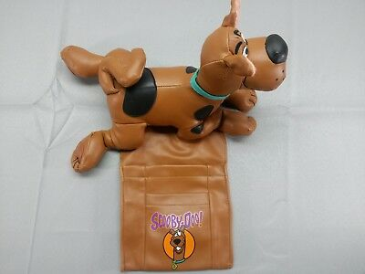 VINTAGE SCOOBY DOO Plush Stuffed Animal TV Remote Control Holder