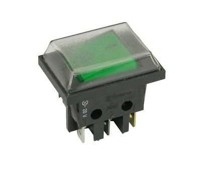 Dreefs DPST Rocker Switch Lighted with Dust Cover     30053