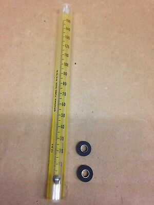Brooks Instrument Tube Assembly Size R-6-15-B w/ SS Float, Look Closely at Pic's