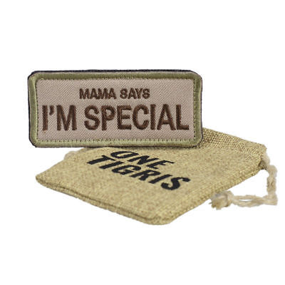"""OneTigris Original Patch Tactical Morale Military Patch """"Mama Says I'm Special"""""""