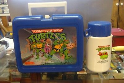 TMNT Lunchbox With Thermos 1989
