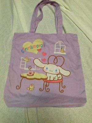 sanrio cinnamoroll Vintage Purple Cloth Bag Never Used