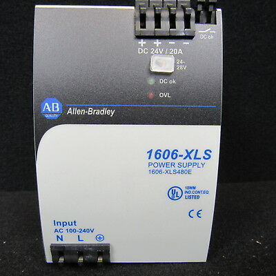 Allen-Bradley 1606-Xls Power Supply 1606-Xls480 E Series A