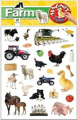 Magnet Fun:  Farm   (Fridge magnets)