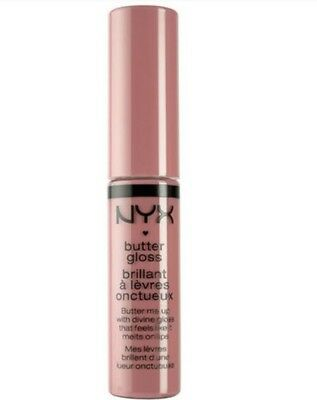 NYX butter gloss BLG05 Creme Brulee