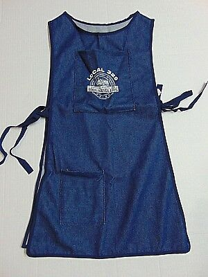 National Postal Mail handler Apron Smock Denim Local 329 UFCW