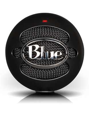 Blue Snowball iCE USB Microphone Plug and Play with Adjustable Mic Stand - Black
