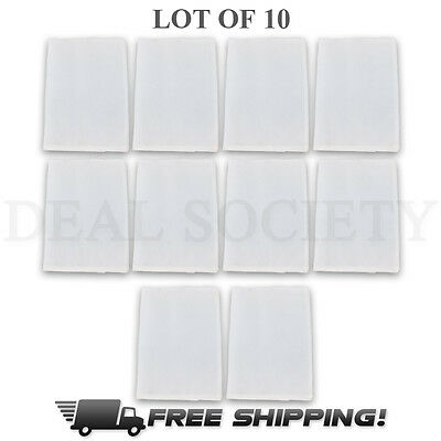 Rosin Filter -Size 2 x 4.5-Rosin Bags-Rosin Screen-Press-90 micron 90u-Lot of 10