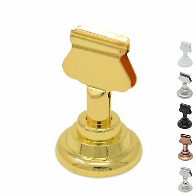 GrayBunny GB-6810B Place Card Holder, 12 pack, Gold, Table Card Holder Table ...