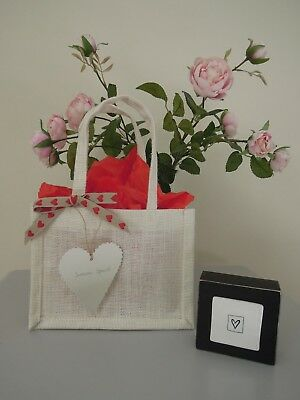Handmade Someone Special Valentines Day Gift Bag Love East of India Tag Heart