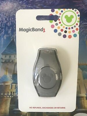 NEW 2018 Disney Parks GRAY Magic Band 2 2.0 Link It Later MagicBand Linkable