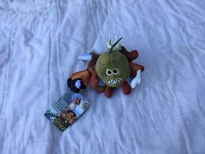 NWT Disney Store Moana Kakamora Pirate Coconuts Set of Three Plush