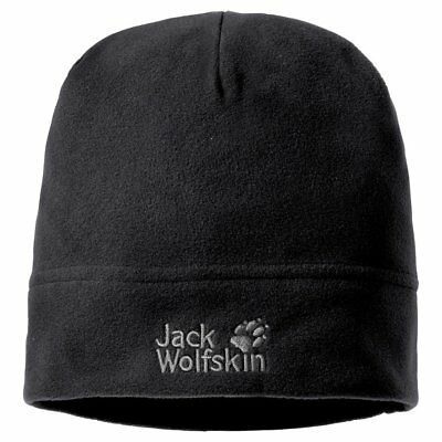 Jack Wolfskin Real Stuff Unisex Mtze, Black, One Size, 19590