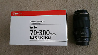 Canon EF 70-300mm f/4-5.6 IS USM Zoom Telephoto Lens