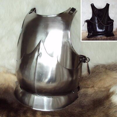 Medieval Tri-Sectioned Breastplate For Stage, Costume, Re-enactment And LARP