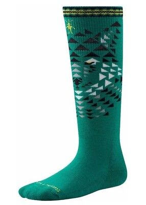 SMARTWOOL Kids Wintersport WOLF Socks GREN Size SMALL Boys - GIRLS