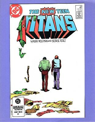 New Teen Titans #39  --  Last Dick Grayson as Robin  -- --  NM-  cond.
