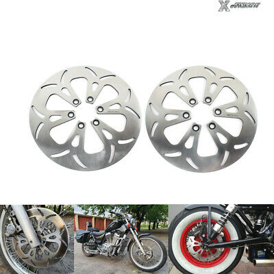 VS 1400 Intruder Front Rear Brake Disc Rotors for Suzuki VS1400 GL GLF GLP 87-09