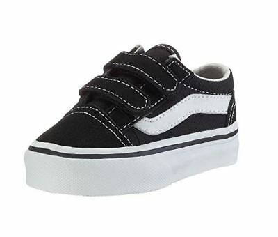 TODDLER VANS OFF THE WALL Old Skool Shoes Checkerboard Black Pewter ... a4e362983