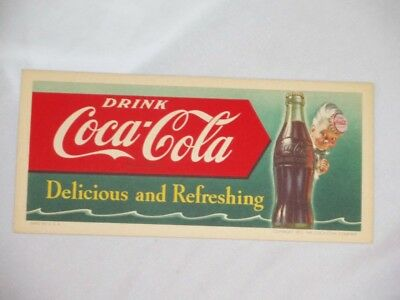 Coke Coca Cola Sprite Boy Ink Blotter New Old Stock Get More and Save Shipping