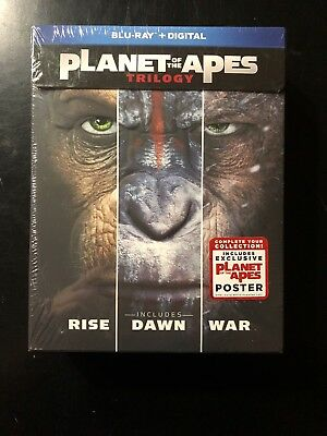 Planet Of The Apes Trilogy Blu-Ray Brand New