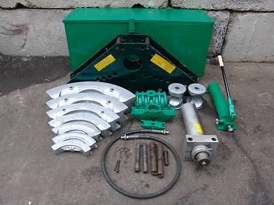 GREENLEE 885 1 1/4 to 5 inch HYDRAULIC PIPE BENDER WITH PUMP WORKS GREAT