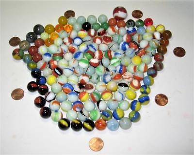 Lot of 152 Vintage Marbles ~ Estate Collection ~ Various Makers