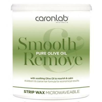 Caronlab Pure Olive Oil Strip Wax Microwaveable 800g - Also Sell Lycon