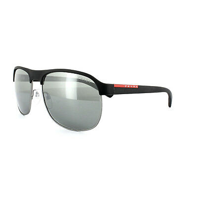 617b4c97b977 Genuine PRADA Linea Rossa Men s Black Sport Sunglasses   NEW   SPS 51QS  DG07W1