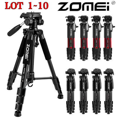 ZOMEI Q111 Professional Aluminum Tripod&Pan Head Portable For DSLR Camera LOT MX