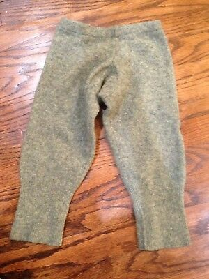 Wool Longies Diaper Cover Sz 18-24 Months