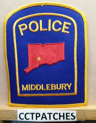 Middlebury, Connecticut Police Shoulder Patch Ct