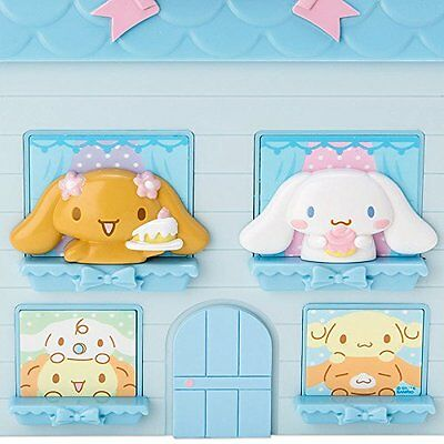 Cinnamoroll House-shaped plastic chest Sanrio from Japan jewelry stationery box