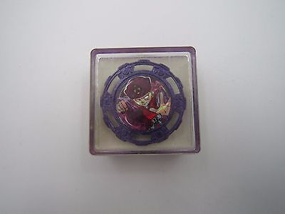 Yu Yu Hakusho Characo Badge Genkai Spinning Top Spin Fighters A Bandai Vintage