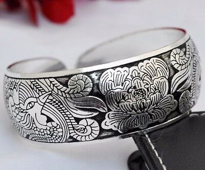 New Tibetan Tibet Silver  Bangle Cuff Bracelet and always a gift added