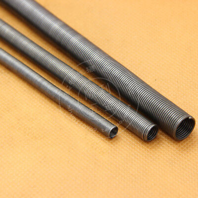 """2Pcs 0.2mm Wire Dia """"1M"""" Extension Tension Spring 1000mm L Steel Springs Sleeve"""