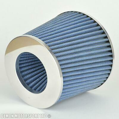 "Performance Universal Cone Air Filter Blue for 76mm / 3"" Intake (P/N 38355)"