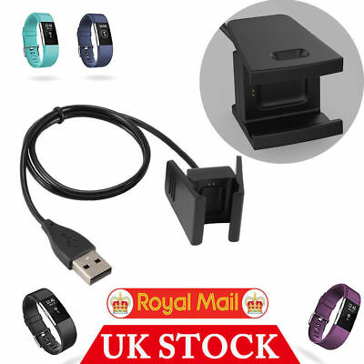 USB Charging Cable Charger Lead for Fitbit CHARGE 2 Fitness Tracker Wristband UK