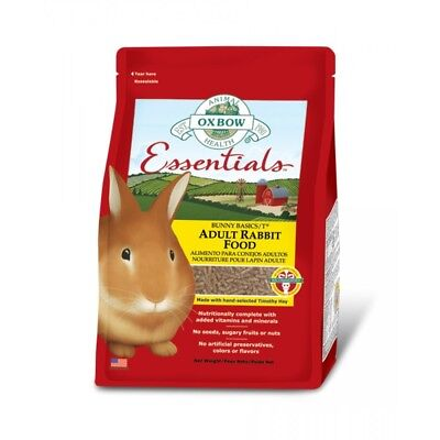 Oxbow Essentials Adult Rabbit Food kg. 4,520 alimento completo per conigli