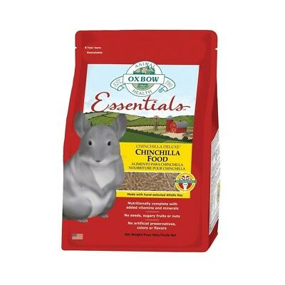 Oxbow Essentials Chinchilla Food kg. 4,520 alimento completo per cincillà
