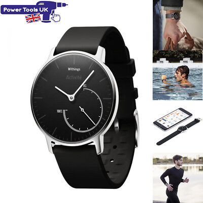 Withings ACTIVITE Steel Auto 24/7 Activity and Sleep Tracking Smart Watch Hwa01