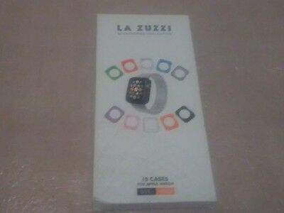 LA ZUZZI Accessories Collection 10 Cases for Apple Watch Multiple Colors 38MM