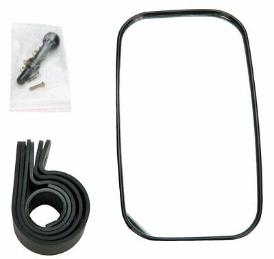 """UTV Rear View Mirror for 1.375"""" - 2"""" Roll Cage with Shatter-Proof Tempered Glass"""