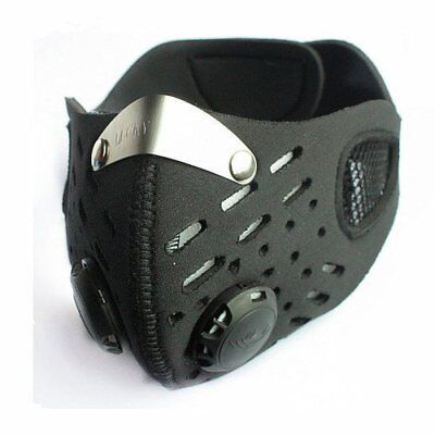 Respirator Mask Sports Dust proof Anti Pollen Allergy Gas Half Face Mask Filter