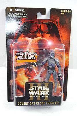STAR WARS Revenge of the Sith - Covert OPS Clone Trooper Actionfigur HASBRO (L)