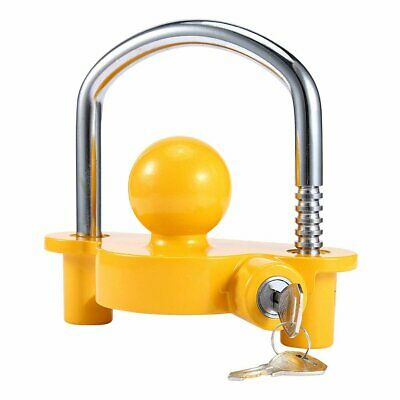 Universal High Security Hitchlock Caravan Trailer Hitch Coupling Tow Ball Lock