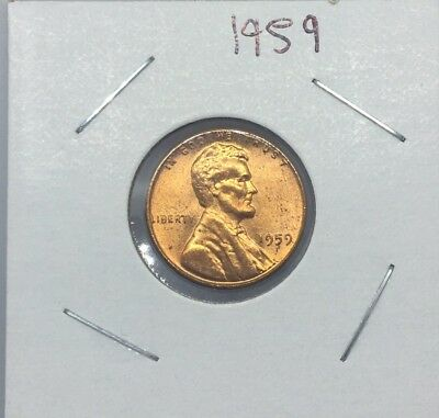 1959-P 1C Lincoln Penny Cent Mint State Uncirculated Gem