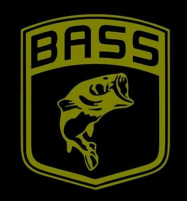 Large Mouth Bass Rear Window Graphic Decal Sticker Car Truck SUV Van Fish 248