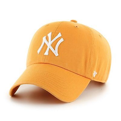 47 BRAND NEW Unisex MLB New York Yankees Clean Up Cap Gold BNWT